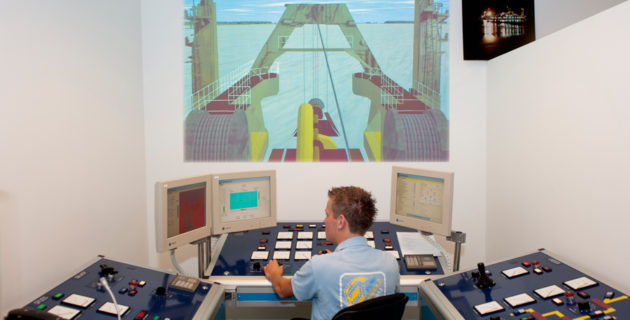 Cutter Suction Dredge simulator
